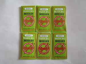 10 Domestic Sewing Machine Needles HAX1,15x1 SIZE 75, 80, 90, 100, 110, 125,140