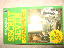 ENID BLYTON SECRET SEVEN BOOK COLLECTABLE BOOK 2 IN 1 GO AHEAD & GOOD WORK 1988
