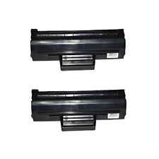 2 Black Toner Cartridge For Samsung Printer ML1660 ML1665 ML1670 ML1675 ML1860