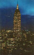 EMPIRE STATE BUILDING AT NIGHT-NEW YORK CITY,NY