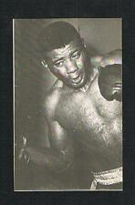 1974 Floyd Patterson never seen before boxing postcard card World Champion boxer