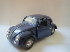 Sunnyside Love Bug Diecast 1:24 WOB VW55 SS770 DARK BLUE - WITHOUT FRONT BUMPER