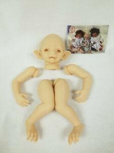Alarick the Werewolf Reborn Vinyl Doll Kit by Noemi Smith