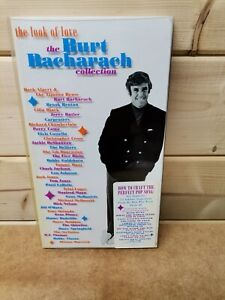 Burt Bacharach 3x CD BOX SET and Book The Look Of Love / Collection LONG BOX