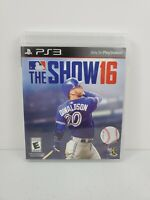 MLB: The Show 16 (Sony PlayStation 3, 2016) No Manual Tested and Works