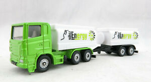 Siku 1690 - Scania Tank Truck and Tank Trailer - New 2019 - approx Scale  1:100