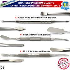 Medentra ® Dental Cirugía Oral Senos perióstica elevadores Buser Prichard implantes