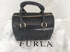 Furla Candy Satchel Dark Grey