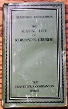 Humphrey Richardson / THE SEXUAL LIFE OF ROBINSON CRUSOE 1967