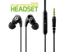 Cellet 3.5mm Hands Free Stereo Headset With Built-in Microphone - Black