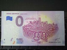 BILLET EURO SOUVENIR SLOVAQUIE 2019-1 HRAD ZBOROV