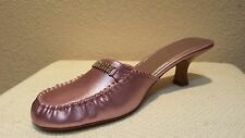 Bamboo, Med (1 3/4 in. to 2 3/4 in.), METALLIC PINK/mauve SLIDES Rhinestones 6