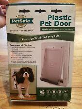 "Petsafe - Plastic Pet Door, Premium White, Small 5-1/8"" X 8-1/4"" Flap Opening"