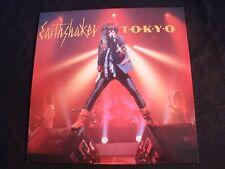 EARTHSHAKER - Tokyo - 1984 French Import Vinyl 12'' Ep./ Exc./ Hard Rock Metal