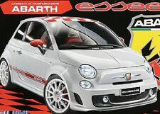 Carrozzeria 1/10 Fiat Nuova 500 tipo Abarth per 1/10 scoppio larghezza 200mm