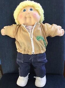 cabbage patch kids dolls vintage 80's
