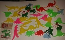 Vintage plastic play and learn Nadel Trading Corp Animals tracing/stenciling etc