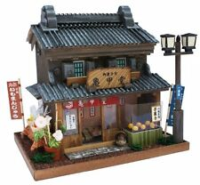 Internal structure of the 8614 Billy handmade Dollhouse Kit Road Series Road Ka