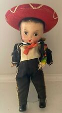 Antique Mexican Character Boy Doll Composition Jointed Doll UNUSUAL