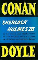 Oeuvres completes Sherlock Holmes Tome III - Arthur Conan Doyle - 2430493