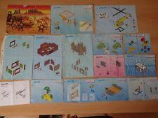 Playmobil Konvolut Bauanleitung Bauplan 28 Stück #13