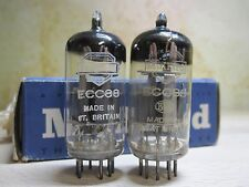 2# ECC88 Mullard Tube ~ 6DJ8 Triode GA2 TEST TV7 120/110 (62=100%) O GETTER UK