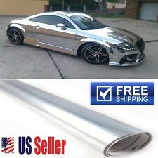 """"" COOLEST """" Chrome/Silver Vinyl Wrap Film DIY Sticker Decal  60""x60"" 5ft x 5ft"