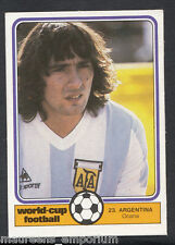 Monty Gum World Cup 1982 Football Card No 23 - Ocana - Argentina