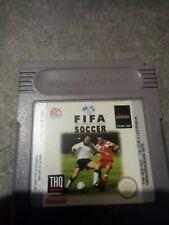 Fifa international soccer jeux Nintendo game boy