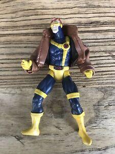 CYCLOPS X-Men vs Street Fighter RARE action figure Toy Biz 1997 Marvel Capcom