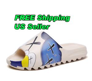 Best Summer Unisex Kids Slide Design EVA Slippers Non-Slip Soft Light