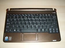 Acer Aspire One ZG5 Palmrest w/ Keyboard, Touchpad. Brown