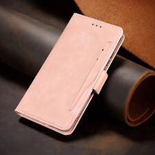 For Motorola Edge 20 Pro Lite Fusion Leather Wallet Card Pocket Flip Case Cover