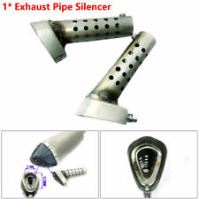 Stainless Motorcycle Exhaust Muffler Pipe DB Baffle Adjustable Killer Silencer