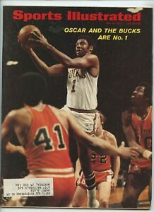 Sports Illustrated Oscar Robertson Bucks 1971 NBA Champ Canonero Kentucky Derby