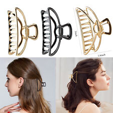 Large Metal Hair Claw Clips Clamp Accessories Hairpin Grip Jaw Barrette Women
