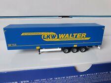 herpa LKW WALTER Int. Transportorganisation AG - MEGALINER Bahn-HUCKEPACK-6