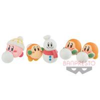 Banpresto Hoshi no Kirby Fluffy Puffy MINE figure 3 type set Japan F/S NEW