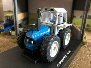 County 974 10 series tractor conversion hand built TAB ford 1:32 scale WOW