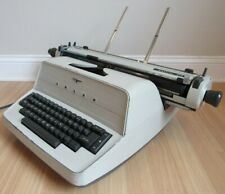 "ADLER TYPEWRITER electric 21d EXTRA WIDE CARRIAGE 18"" retro vintage ULTRA RARE"