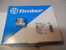 Relais 250VAC /16A Wechsler (Hochstrom) 50St Finder 40.61.7.012 12VDC