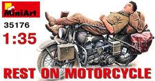 MiniArt 1/35 reste sur moto # 35176