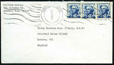 USA 1968 Commercial Airmail Cover To UK #C42782