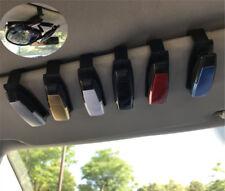 In Car Sun Visor Glasses Sunglasses Spectacles Ticket Card Pen Clip Mount Holder