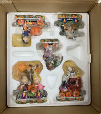 Peanuts Danbury Mint Pumpkin Patch Express Train Collectible Figures Halloween