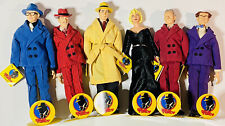 Applause Dick Tracy, Marilyn Monroe Complete Set of 6 Dolls, Stands & Tags, 1990