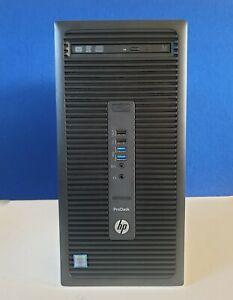Hp ProDesk 600 G2 MT Intel Core i7 6700 6th Gen@3.40Ghz 16GB 128GB SSD 500GB W10