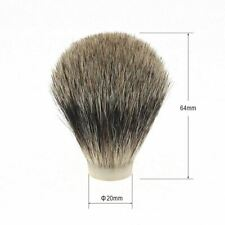 20 21 22mm Pure Level Badger Shaving Brush Head Hair Knot DIY Wet Shave Brush