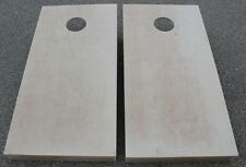 "24x36 CORNHOLE BOARDS BEANBAG TOSS GAME SET ""pick your colors"" bags UNFINISHED"