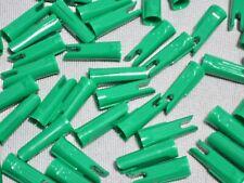 "48 to 50 ~ 11/32"" Bohning Glue-On Speed Nocks~ Traditional Recurve/Longbow Arrow"